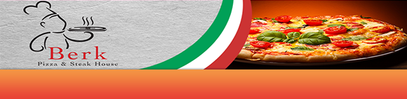 Berk Pizza & Steakhouse Bundbanner